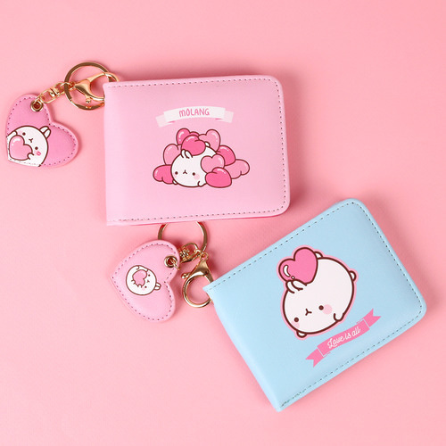 MOLANG HART KEY RING WALLET